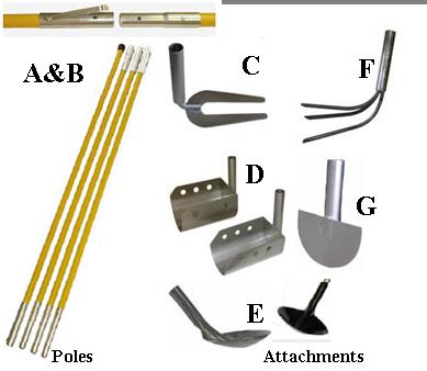 Epa Sales Poles Amp Attachments